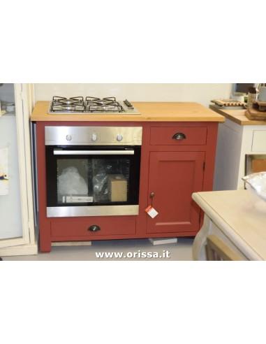 Modulo cucina forno e fuochi
