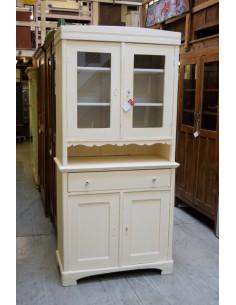 Imagén: Credenza vintage legno colore bianco