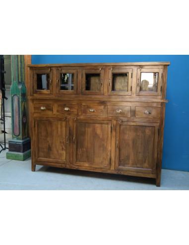 """Credenza """"La Coloniale"""" legno massello"""