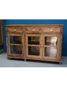 Bancone in legno di teak