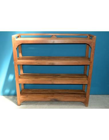 Scaffale in legno di teak