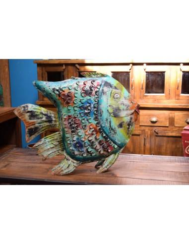 pesce lanterna colorato grande