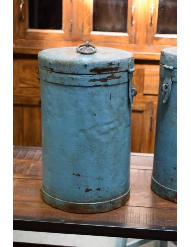 Contenitore in ferro vintage
