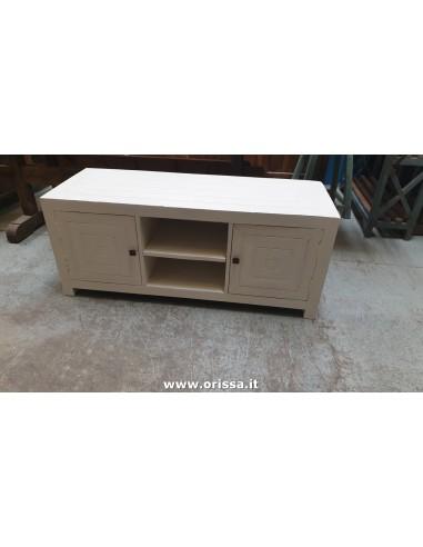 Mobile porta TV bianco decapato