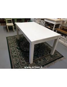 Imagén: Tavolo in legno bianco decapato