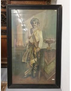 Quadro Maharaja con cornice