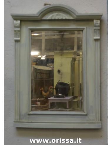 Cornice con specchio vintage