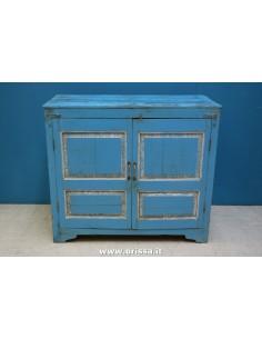 Credenza legno blu