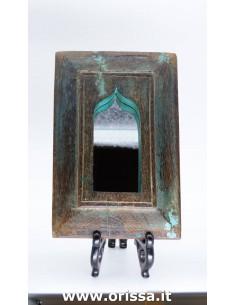 Specchio con cornice color...