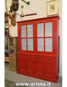 Imagén: Credenza rossa ante cassetti
