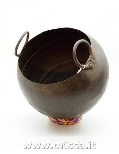 Vaso ferro battuto