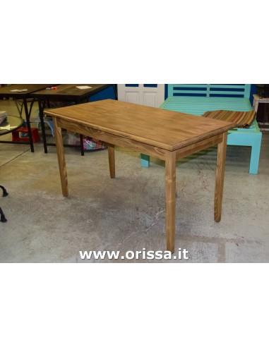 Tavolo in legno massello profondità 70cm