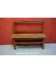 Panchina in legno massello...