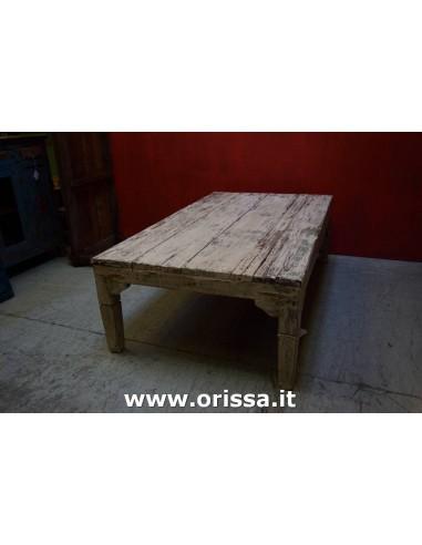 Tavolo basso shabby