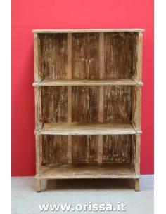 Scaffale legno massello