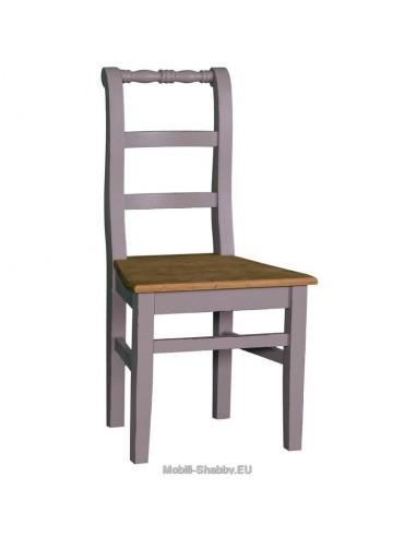 Sedia legno massello provenzale