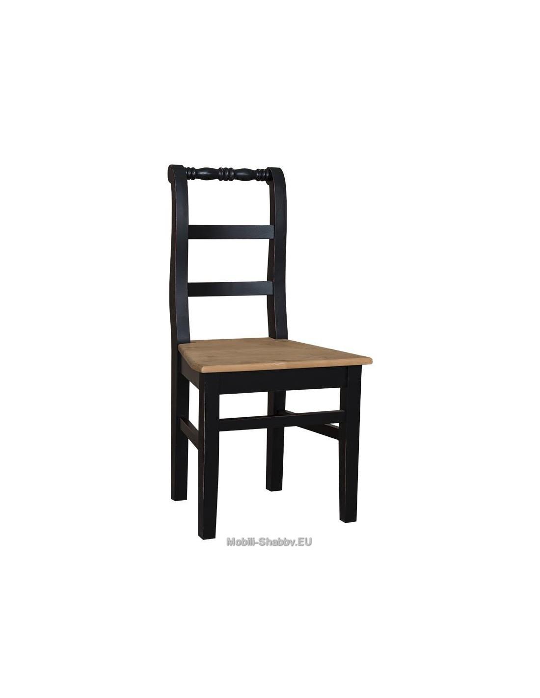 Sedia in legno massello provenzale colorata ms82 orissa for Sedia a dondolo provenzale