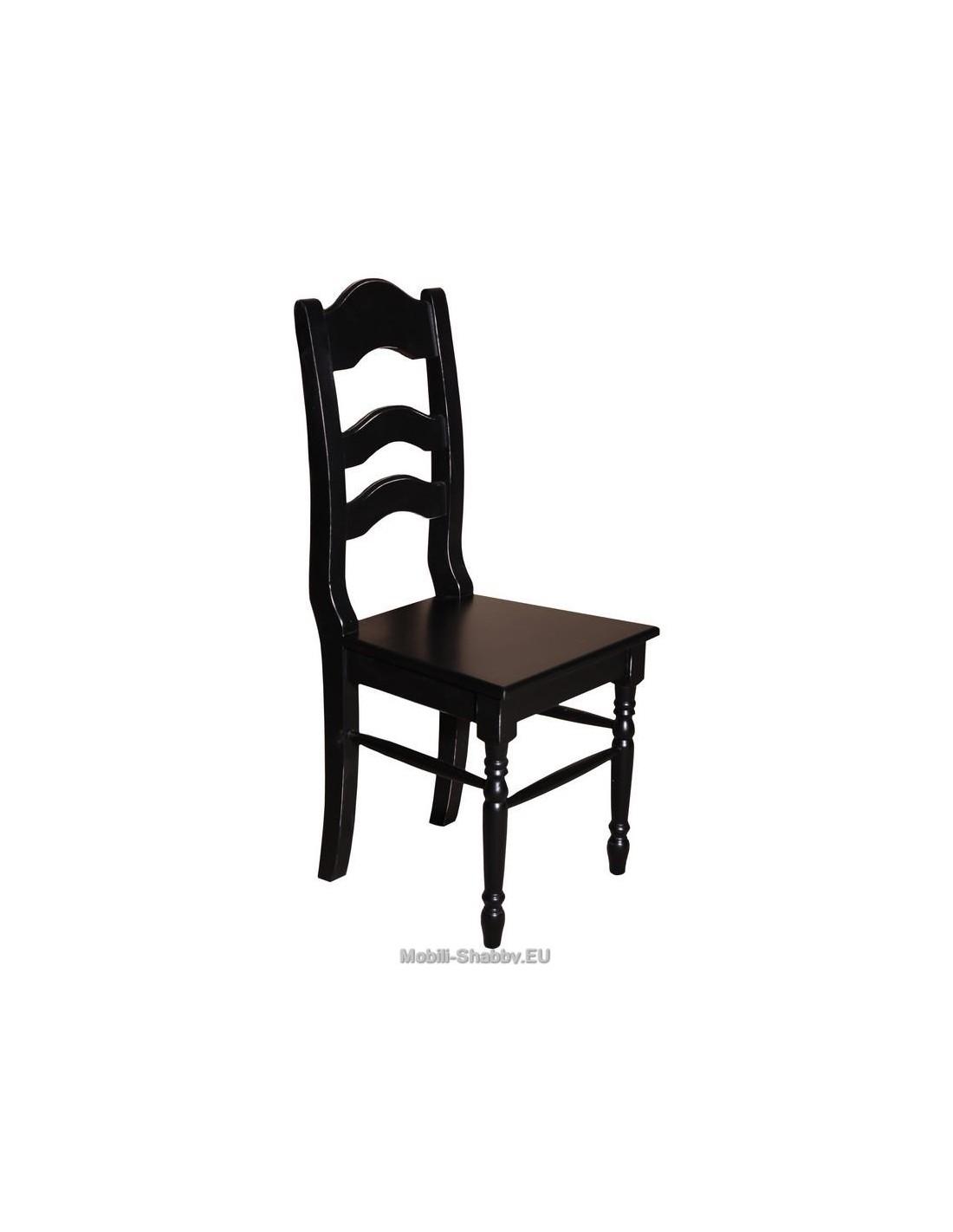sedia in legno massello shabby chic MS203 - Mobili-Shabby.EU by Orissa