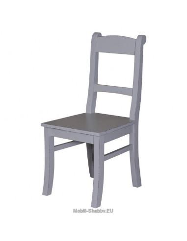 Sedia legno massello colorata