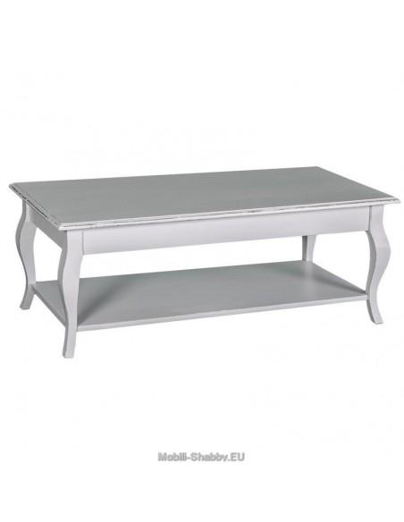 Tavolino stile provenzale colorato 120cm