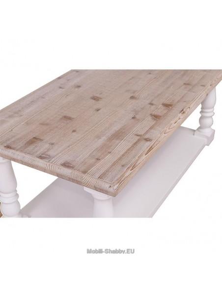 Tavolino stile country 120cm