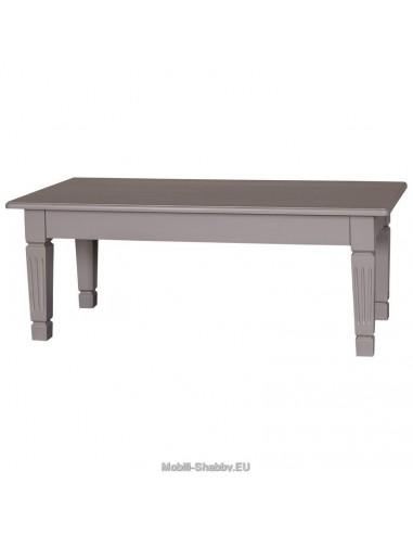Tavolo basso provenzale colorato 120cm
