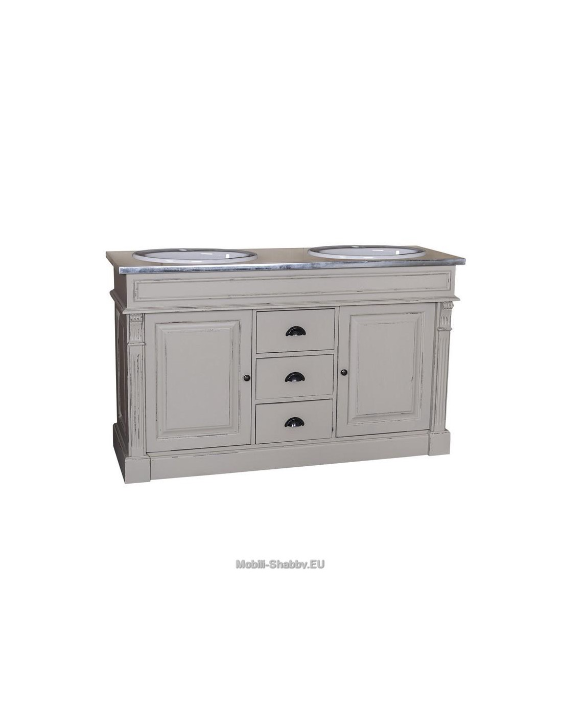 mobile bagno sottolavabo country MS4001 - Mobili-Shabby.EU by Orissa