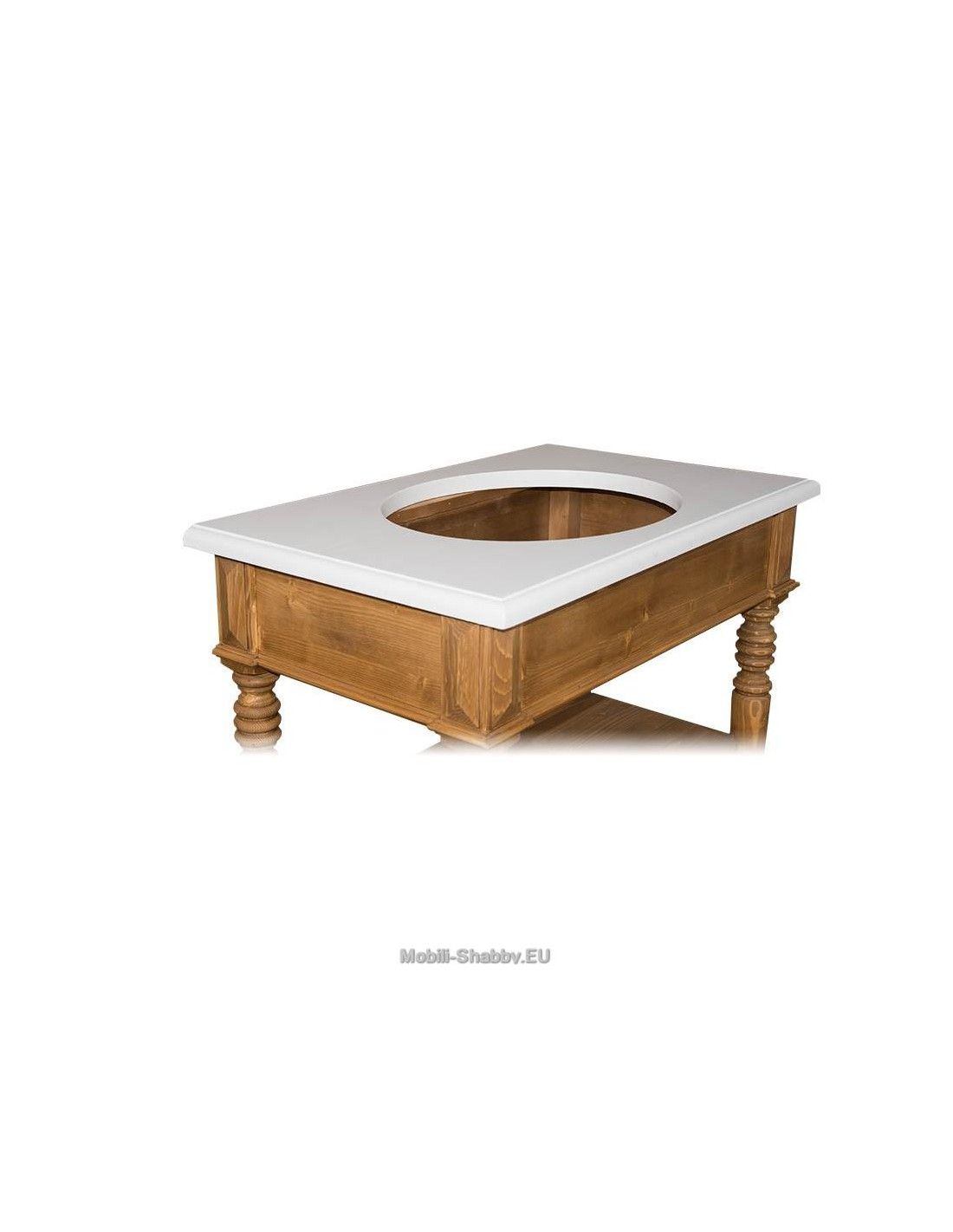 Mobile bagno sottolavabo shabby chic ms546 orissa milano for Lavabo shabby chic