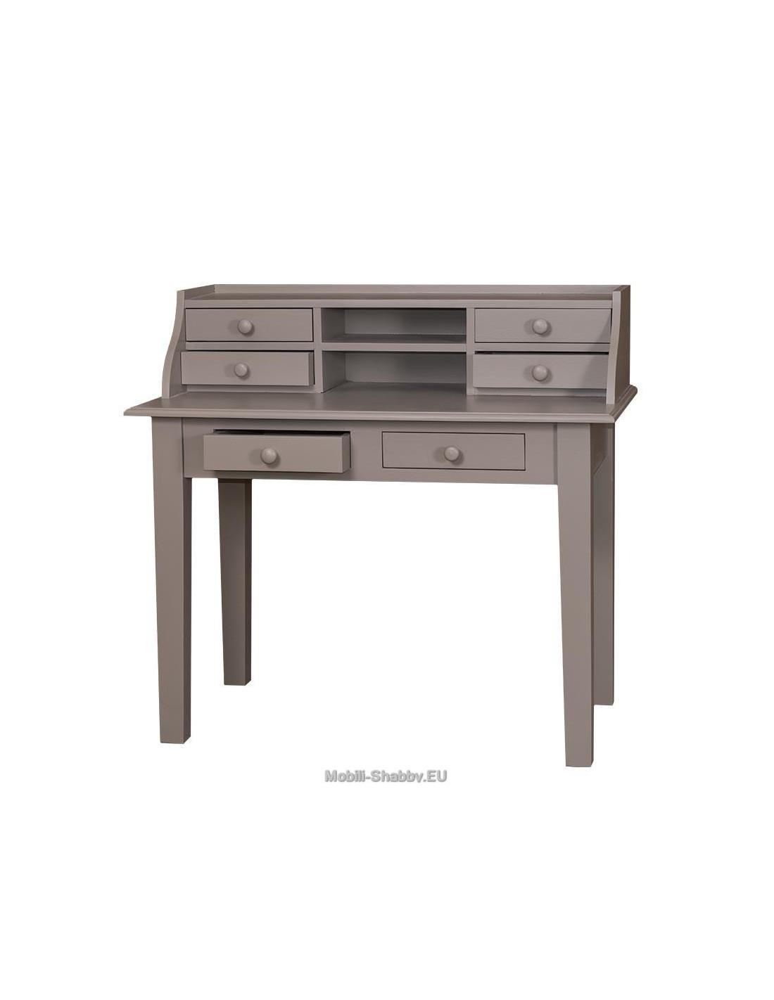 Best cool scrivania con alzata provenzale colorata cm with - Tavolo a libro ikea ...