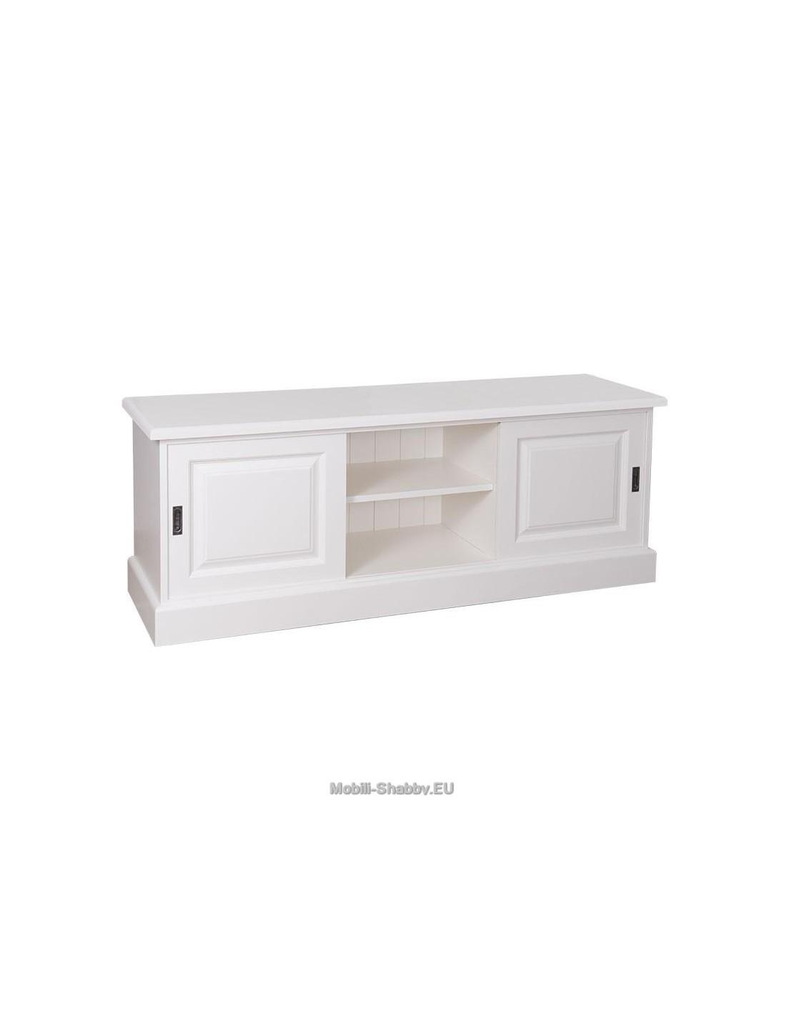credenza porta tv provenzale colorata ms222 mobili shabby eu by orissa. Black Bedroom Furniture Sets. Home Design Ideas