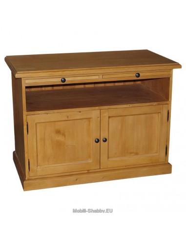 Credenza porta TV legno massello colorata MS289 - Mobili-Shabby.EU ...