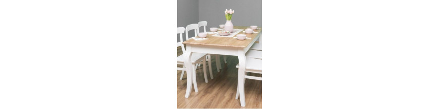 Tavoli scrivanie e consolle stile provenzale colorato for Consolle colorata