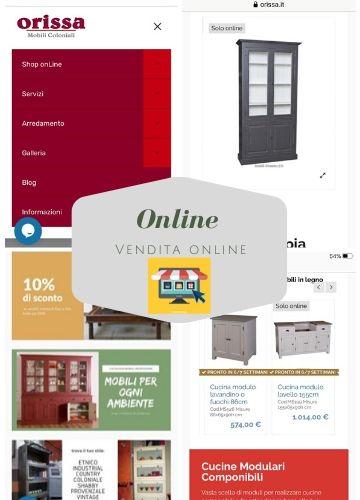 Vendita online arredamento