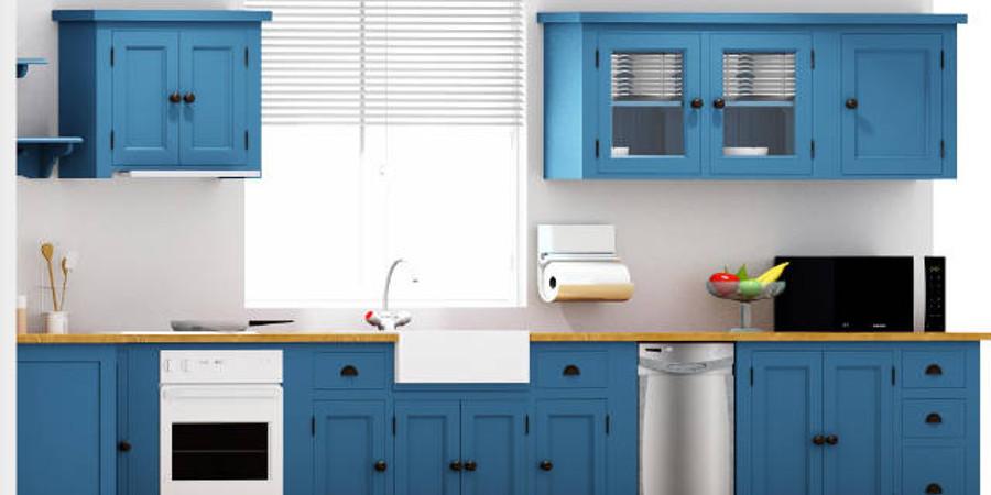 cucina modulare legno massello