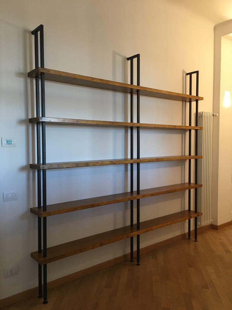 Legno Online Su Misura arredamento industrial librerie e tavoli ferro e legno