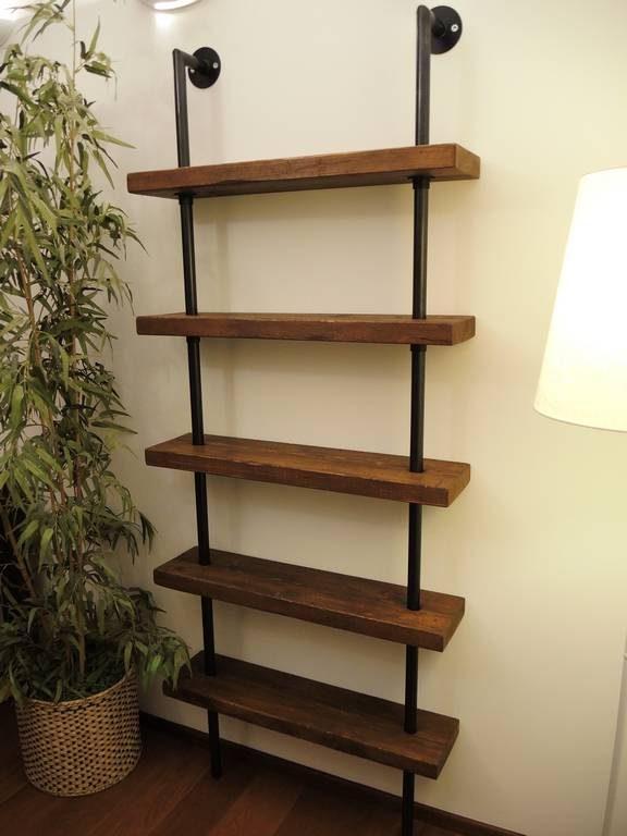 arredamento industrial librerie e tavoli ferro e legno - Orissa Milano