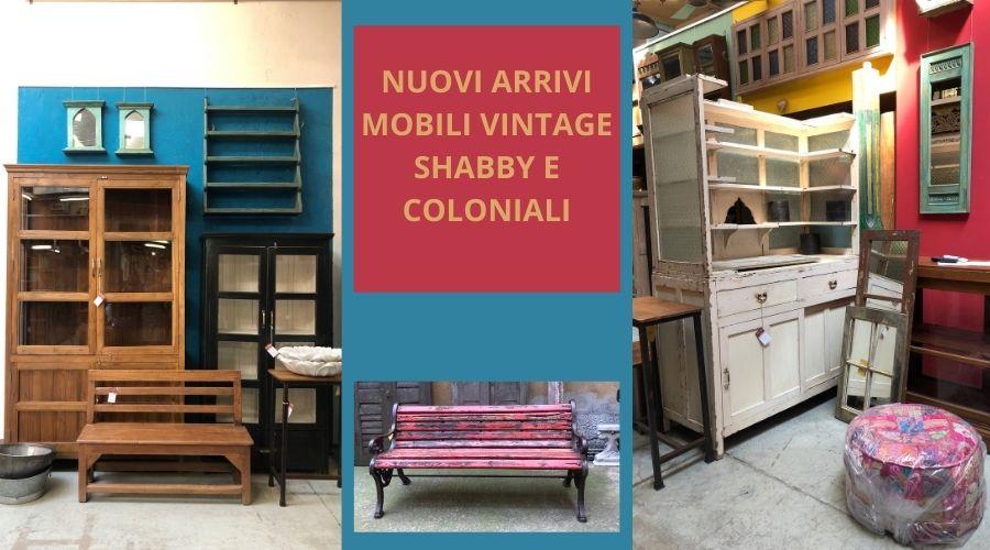mobili vintage appena arrivati