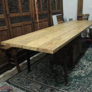 tavolo rustico ferro legno