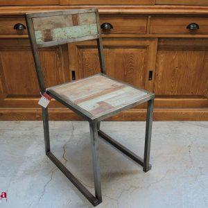 sedie ferro e legno stile industrial (3)