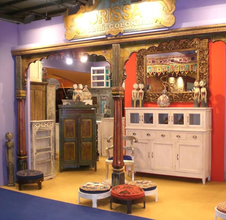 Arredamento etnico indiano e indonesiano orissa milano for Tessuti arredamento outlet milano