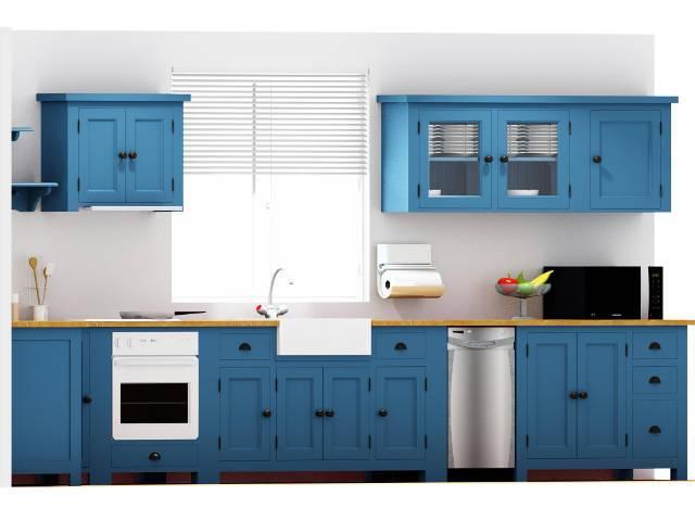 cucina modulare freestanding