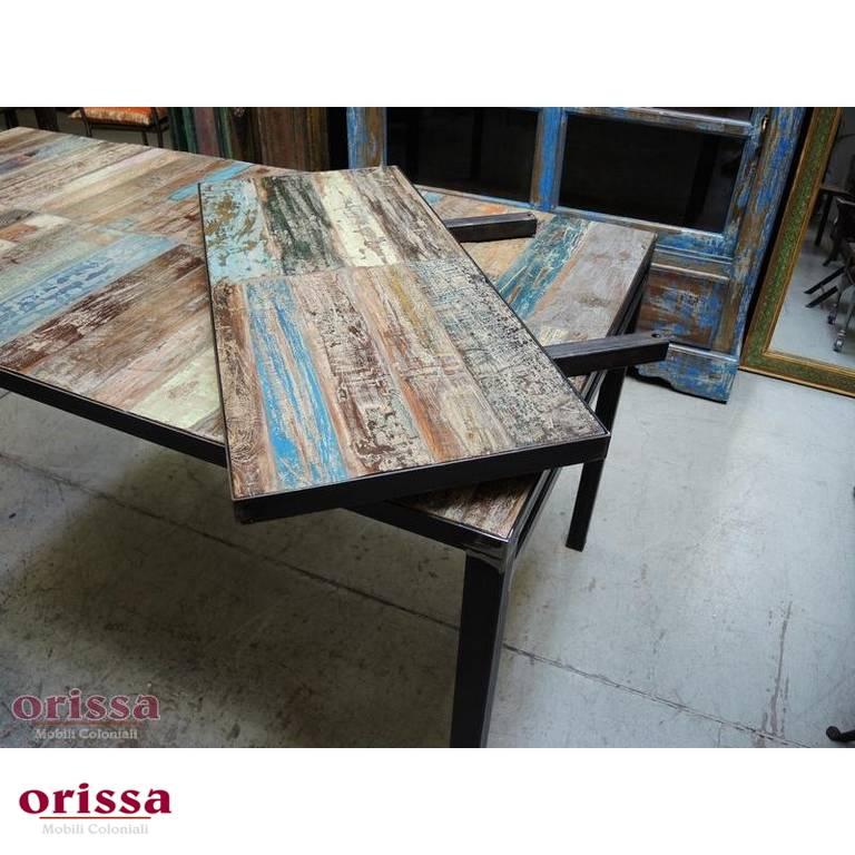 Arredamento Industrial Librerie E Tavoli Ferro E Legno Orissa Milano