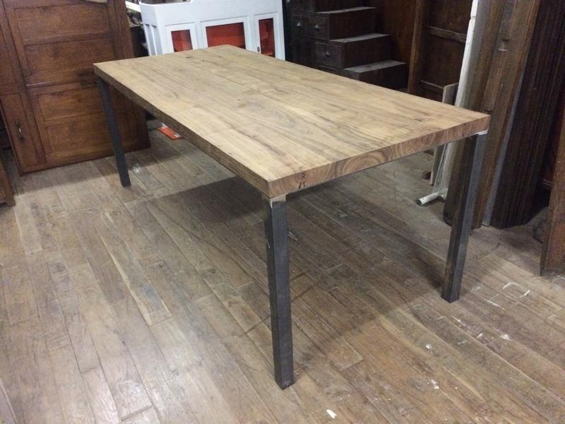 Mobili In Legno E Ferro : Arredamento industrial librerie e tavoli ferro e legno orissa milano